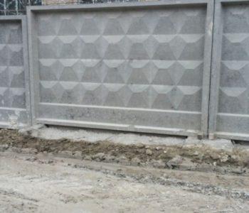 Инженерные заграждения с воротами и калитками